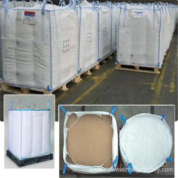 Jumbo baffle bulk bag size for sand