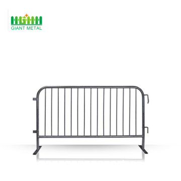 Galvanized Flat feet Crowd Control Barrier for sale