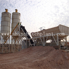 Personlized Products for Mobile Concrete Mixer 40 Medium Mobile Concrete Cement Plant supply to Mauritania Factory
