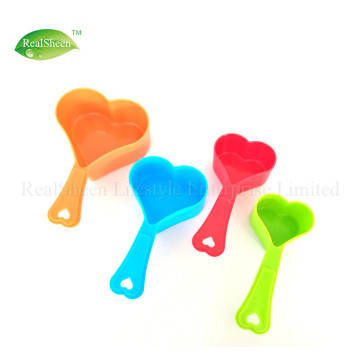 Heart Shaped Measuring Cups and Spoons