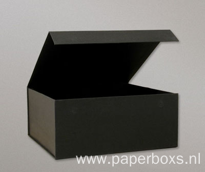 Black Rigid Magnetic Closure Sunglasses Gift Packaging Boxes