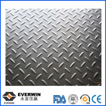4.0-10.0 Width Diamond/Two Bar Alumium Plate Checkered