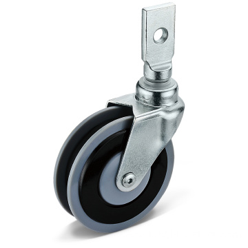 23 Series PU Square Socket Casters