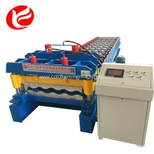 Metal cold glazed tile roofing roll forming machine
