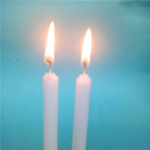 Religious Activities Use Handmade Wax Candles