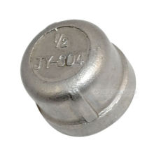Stainless Steel Threaded End Cap