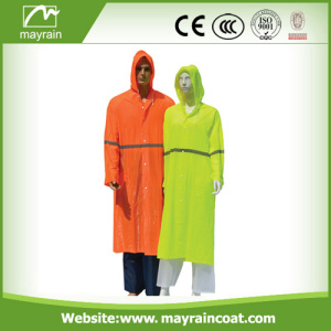 New Design Lady' s PVC Raincoat