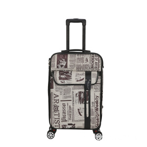 Big discounting for Four Wheeled Trolley Luggage EVA Coated Fabric Soft Luggage export to American Samoa Supplier