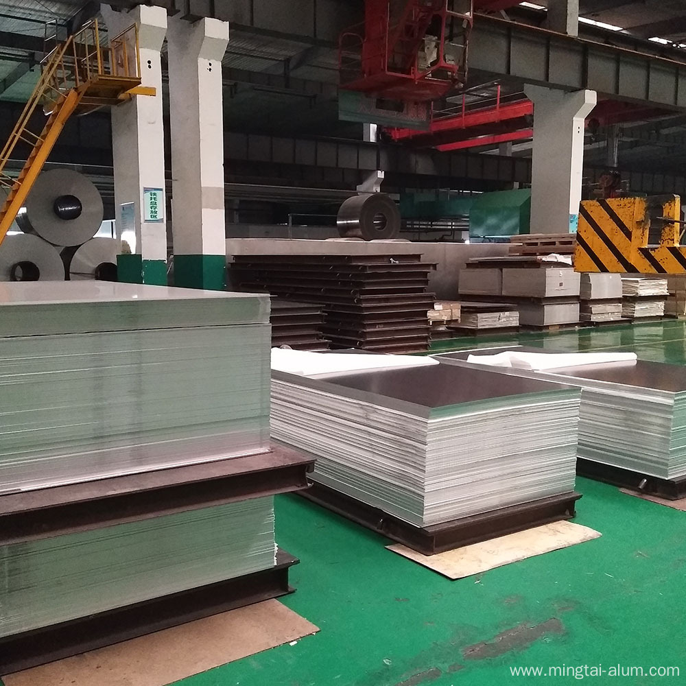 Plain Aluminum Alloy Plate 3105 H14 for curtain exterior decoration