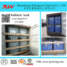 Fixed Competitive Price for Compound Additive Chemistry Reagent Grade Sulfuric Acid 96% 98% export to Spain Importers