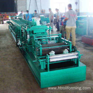 Factory selling cz purlin roll forming aluminium making machine