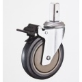Easy to handle caster for general and industrial use. Manufactured by Nansin Co., Ltd. Made in Japan (medical caster wheel)