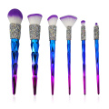 6PC Diamond Makeup Brush Kollektioun
