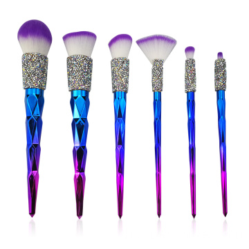 6PC Diamond Brush Collection Collection