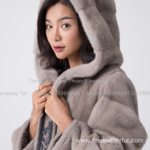Kopenhagen Mink Fur Coat For Lady