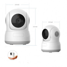 Good Quality for 1MP Wireless Security Cameras Wireless Indoor HD P/T IP Camera Baby Monitor export to Netherlands Wholesale