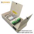 FTTH ABS Fiber Optic Distribution Box 1X32 PLC Splitter