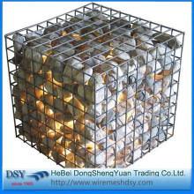 Customized for Galvanizing Welded Gabion Box 2x1x1m mesh hexagonal wire mesh gabion box supply to Guyana Importers