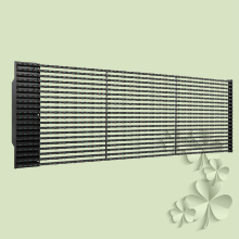 Purchasing for Custom Curtain Led Display P25 Outdoor LED Grille Curtain display supply to Portugal Manufacturer