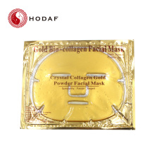 Organic beauty cosmetics 24k gold facial masks