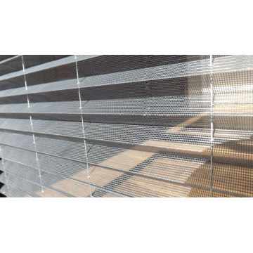 Pleated polyester screen with water proof