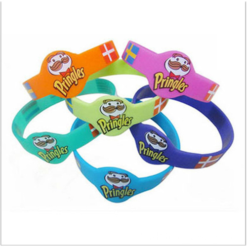 Personalized Hand Band Silicone Jewelry Funny Bracelet