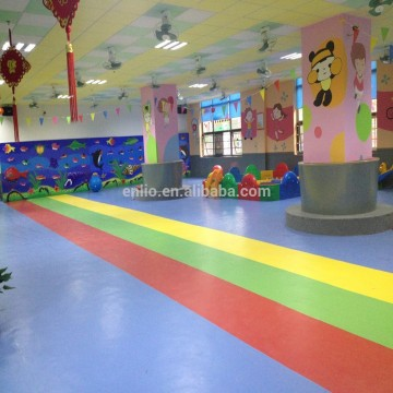 Kids and kindergarten use flooring