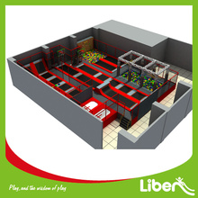 large indoor jump park for commercial