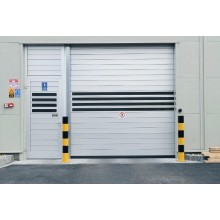 2018 Secure Aluminum High Speed Hard Metal Door
