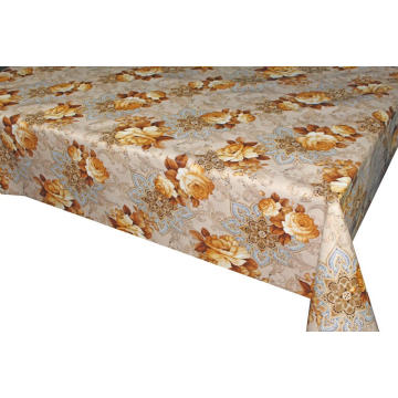 Pvc Printed fitted table covers Hour Table Runner