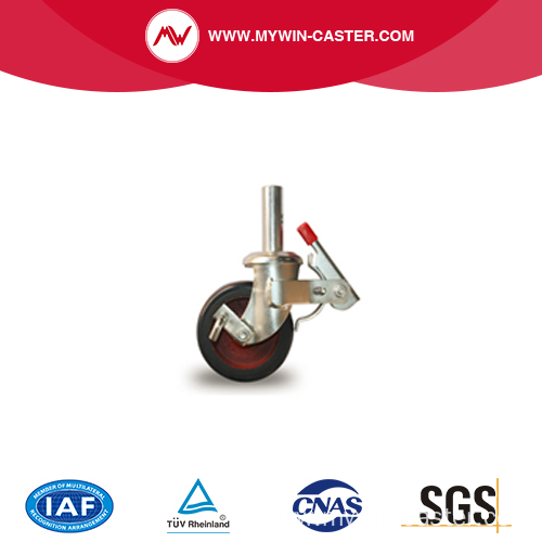mobile scaffolding caster wheel