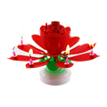 Birthday Party Lotus Music Candle