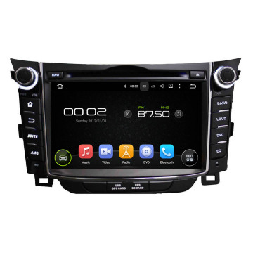 Sistema 7.1 Hyundai I30 Car Multimedia Android