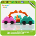 Excavator  Eraser sets for  school use