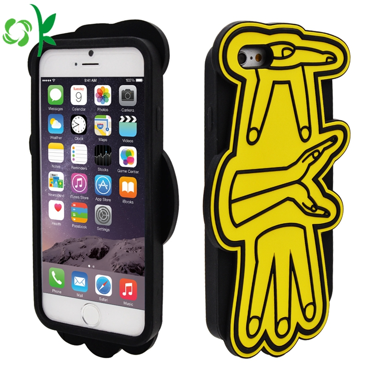 3d Silicone Mobile Phone Case