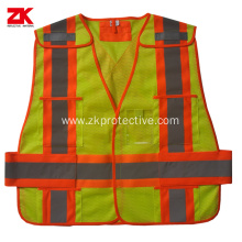 Hi-viz EN1150 disposable reflective waistcoat