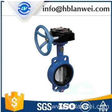 China New Product for Concentric Butterfly Valve D371X-16 wafer style butterfly valve export to Indonesia Factories