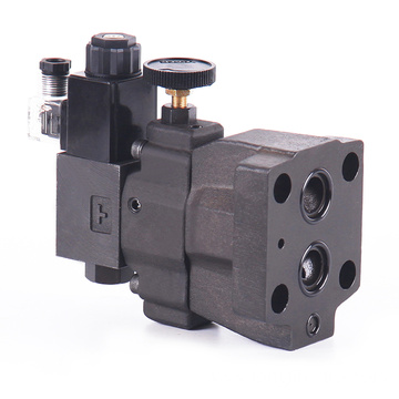 Low Noise Type Solenoid Controlled Relief Valves