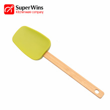 Bakeware Silicone Spatula with Wooden Handle