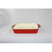 Square Enamel Dish for cooking