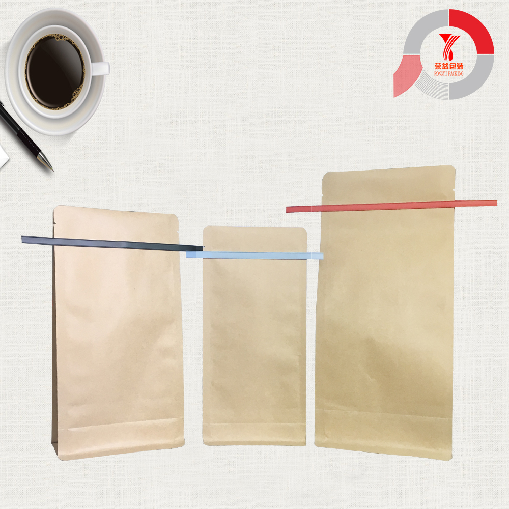 Kraft Paper Bag With Tin Tie