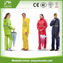 Waterproof PU Soft Light Rainsuit
