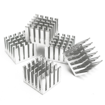 Aluminum Die Casting Cold Forging Flexible Heat Sink