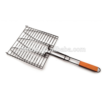 Non-slip Handle Barbecue Grill Wire Mesh