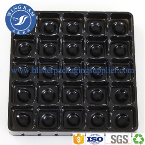 Convenient Exquisite Chocolate Beans Blister Plastic Tray