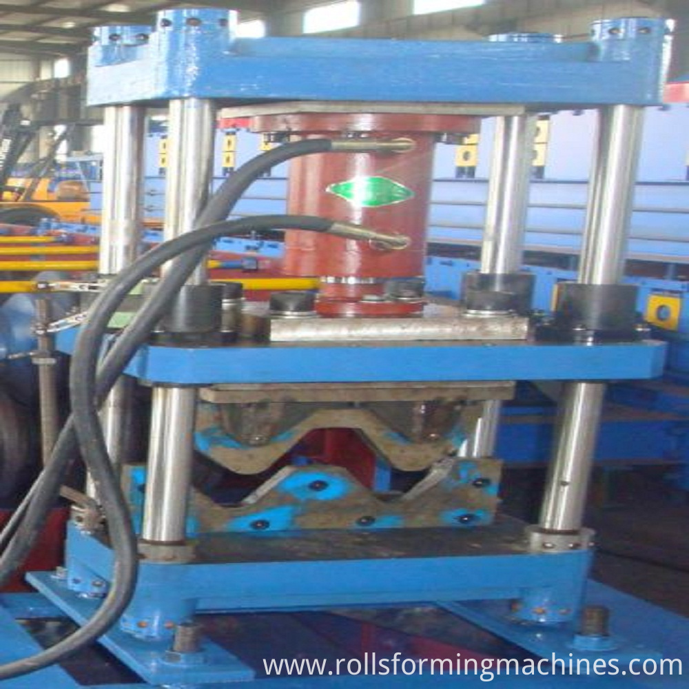 cutting for Freeway Steel Guardrail Forming Machine