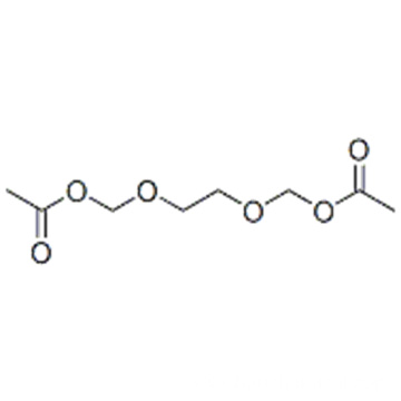 2-(acetyloxymethoxy)ethoxymethyl acetate CAS 90114-17-3