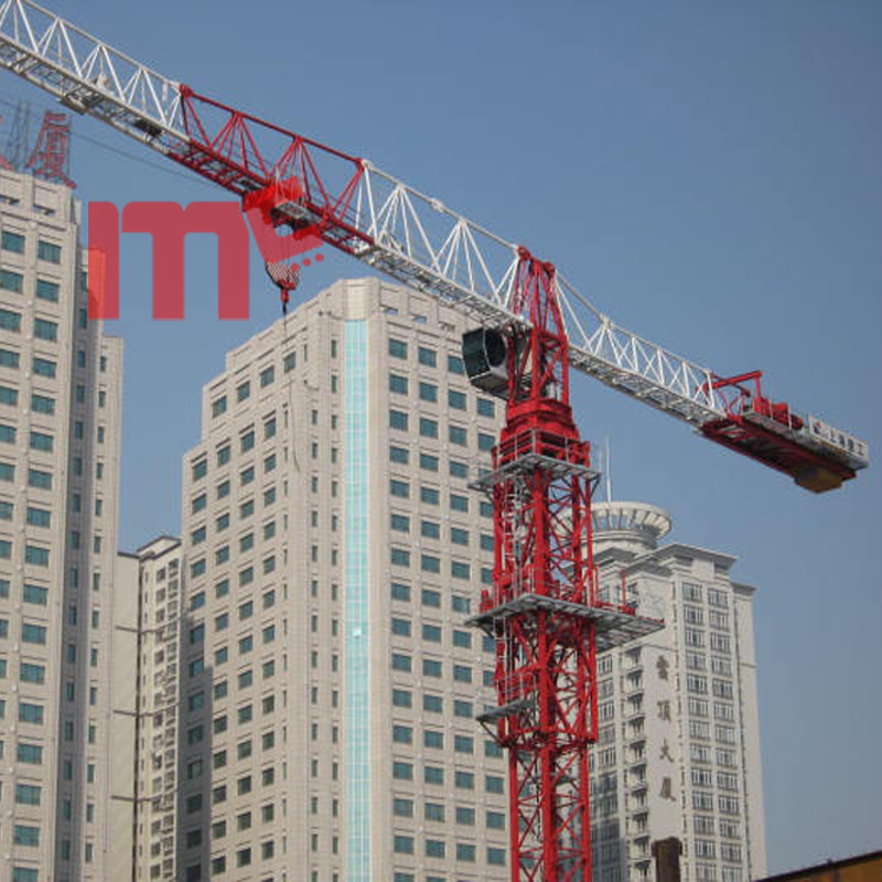Flat top 12t tower crane