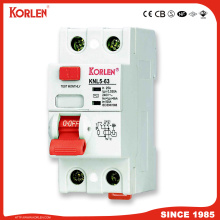 Residual Current Circuit Breaker  with leakage protection function 63A frame