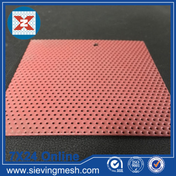 PVC Coated Punched Metal Mesh
